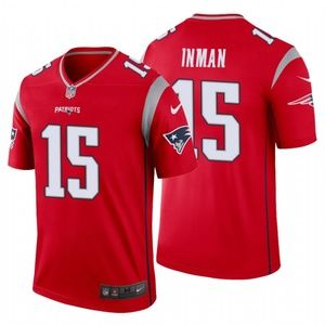 Men Dontrelle Inman New England Patriots Jersey